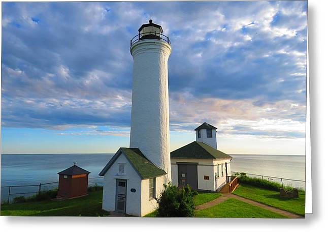 Tibbetts Point Lighthouse In June Greeting Card