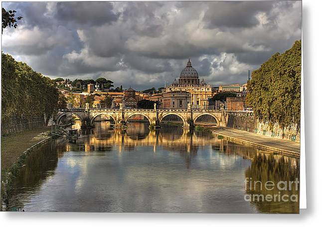 Tiber River Greeting Card