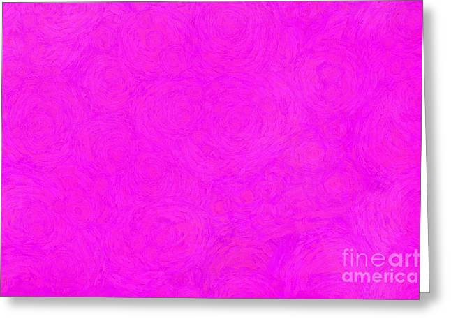Tickled Pink Greeting Card by Krissy Katsimbras