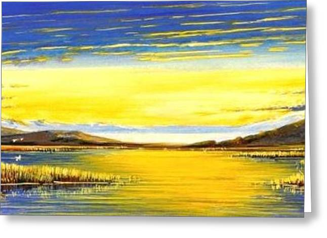 Tidal Lands Greeting Card by Bob Patterson