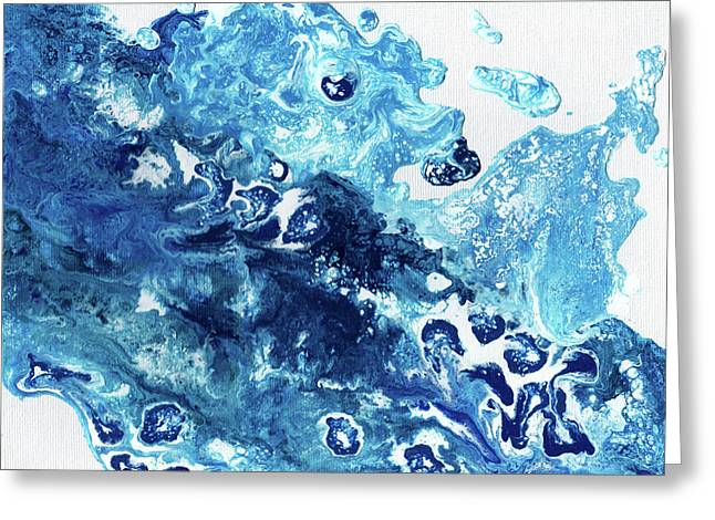 Tidal Wave Greeting Card