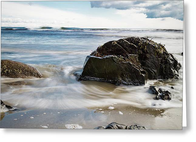 Tide Coming In #2 Greeting Card