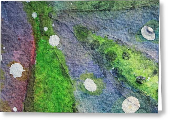 Tide Pool 3 Greeting Card by  Judy Bernier