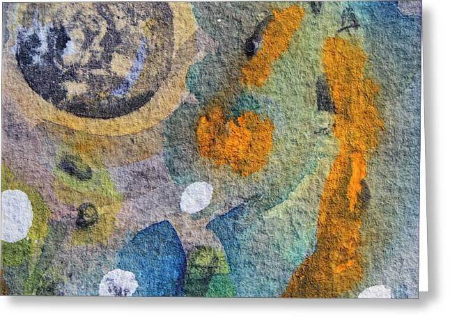 Tide Pool 4 Greeting Card by  Judy Bernier