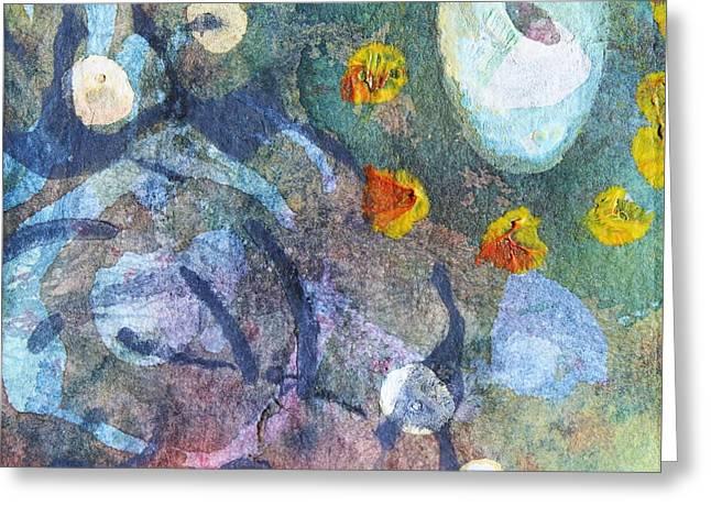 Tide Pool 8 Greeting Card by  Judy Bernier