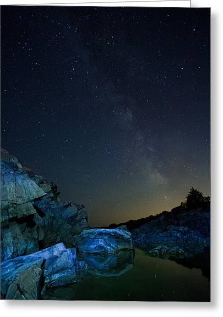 Tide Pool Greeting Card by William Sanger