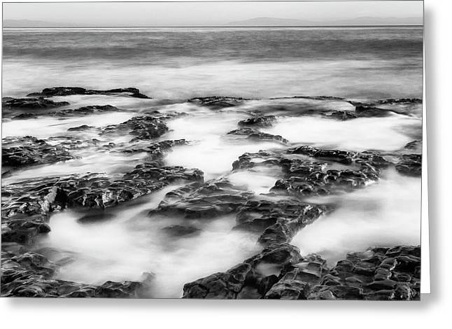 Tide Pools Greeting Card by Steve Spiliotopoulos