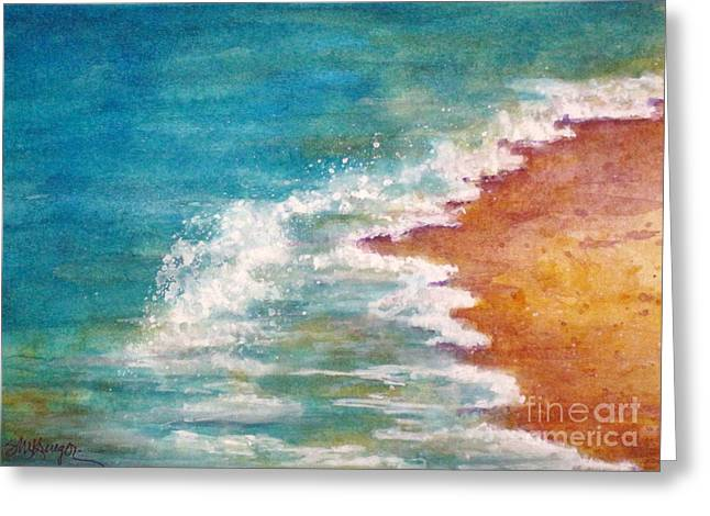 Tide Rushing In Greeting Card