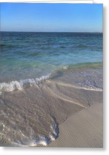 Tides Of Time Greeting Card