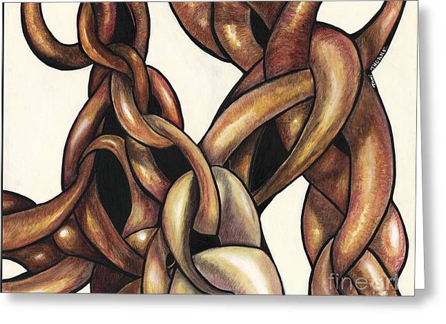 Tied Together Greeting Card