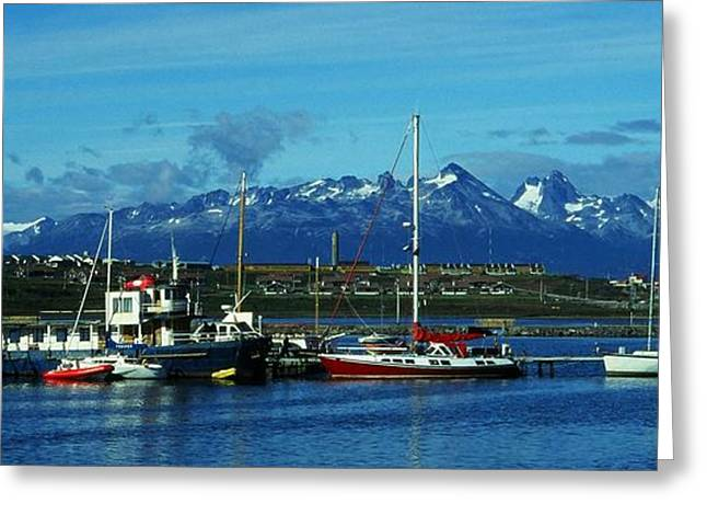 Tierra Del Fuego Greeting Card