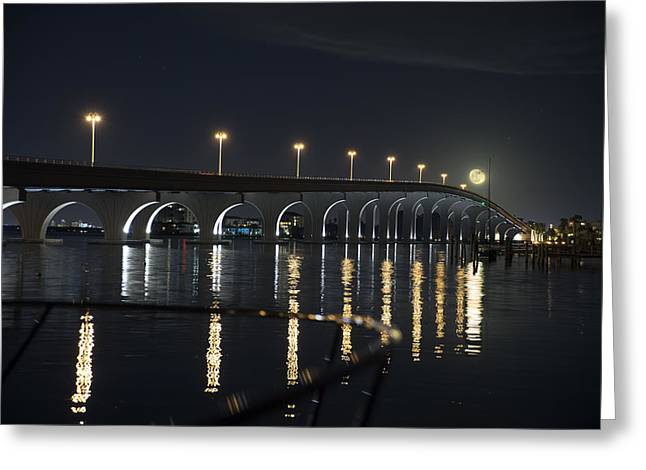 Tierra Verde Bridge Greeting Card