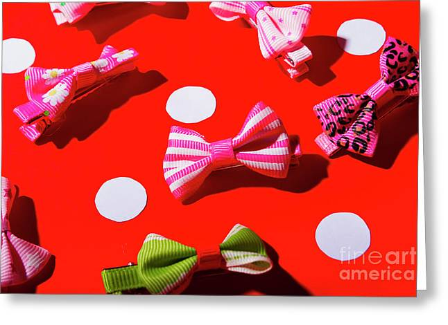 Ties To Fashion Greeting Card