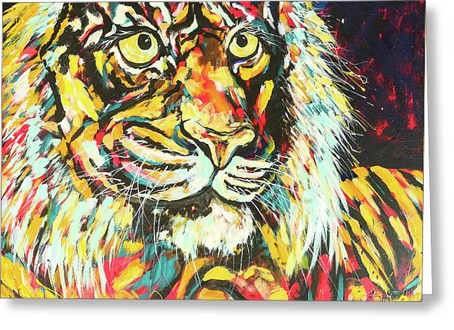 Tiger #2 Greeting Card