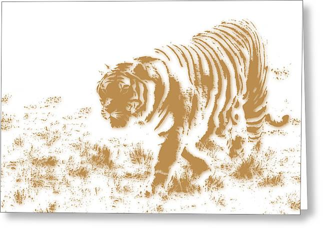 Tiger 2 Greeting Card by Joe Hamilton