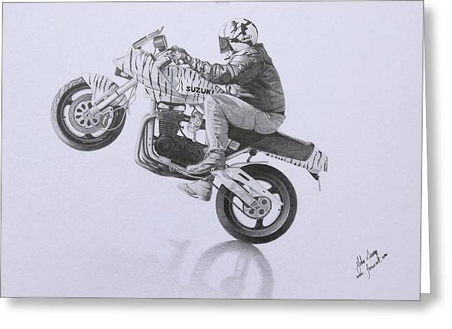 Motorcycle Drag Racing Greeting Cards Page 5 Of 12 Fine Art America