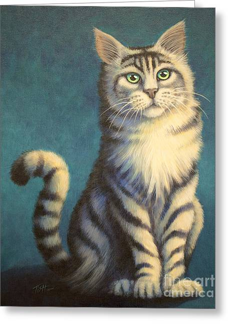 Tiger Kitty Greeting Card