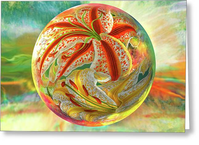 Tiger Lily Dream Greeting Card