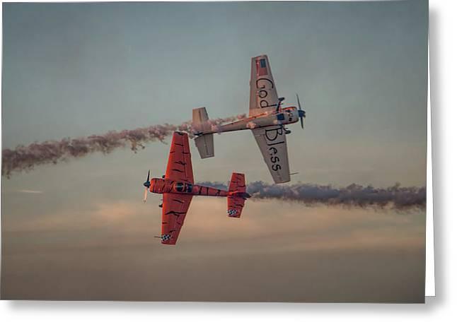 Tiger Yak 55 Greeting Card