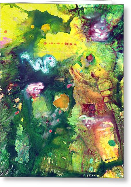 Tikal Greeting Card by James Douglas Draper