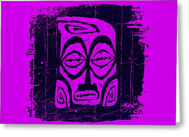 Tiki Taboo Greeting Card by Tiki Bender
