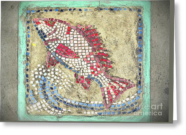Tile. St.lucia Greeting Card
