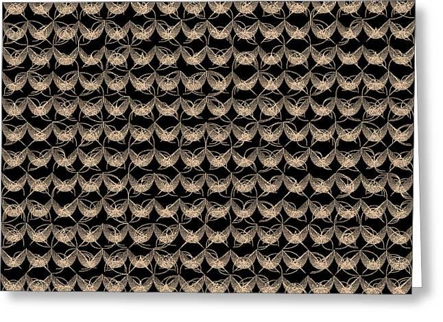 Tiles.2.169 Greeting Card by Gareth Lewis