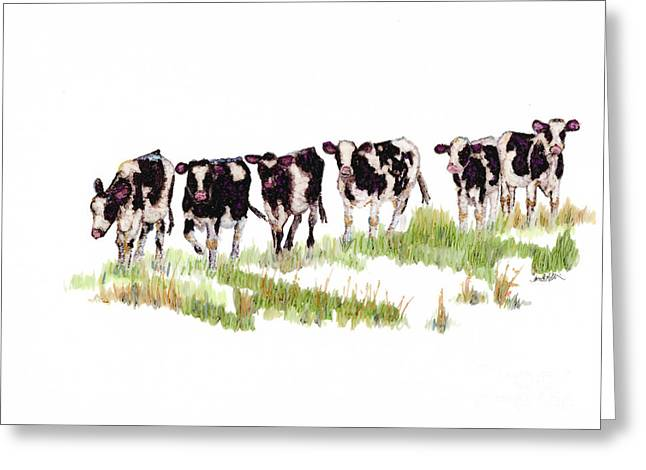 Till The Cows... Greeting Card