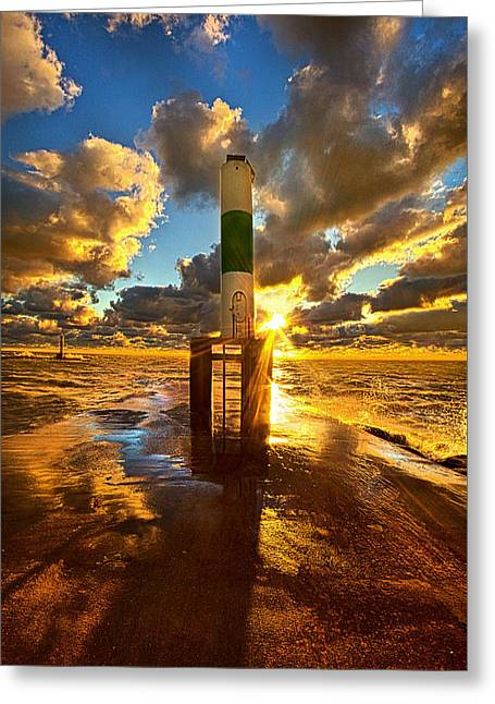 Till You Opened My Eyes Greeting Card by Phil Koch