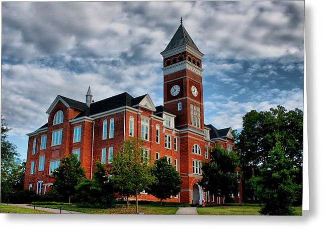 Tillman Hall Greeting Card by Lynne Jenkins