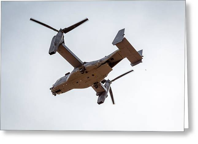 Tilt Rotor Helicopter #1 Greeting Card