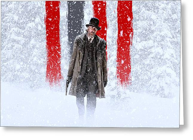 Tim Roth The Hateful Eight Greeting Card by Movie Poster Prints