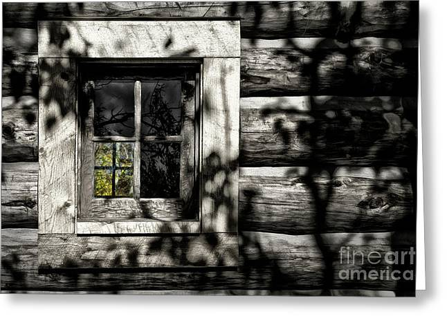 Greeting Card featuring the photograph Timber Hand-crafted by Brad Allen Fine Art