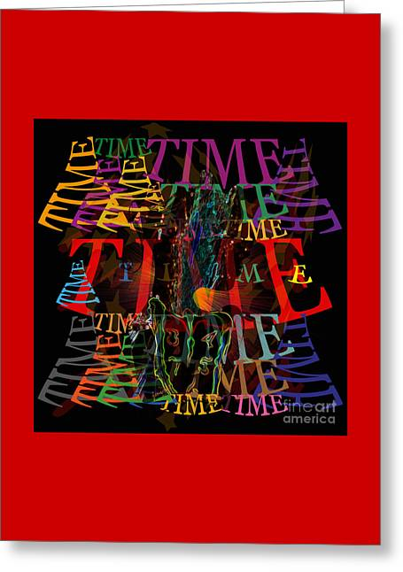 Extraordinary Time  M1 Greeting Card by Johannes Murat