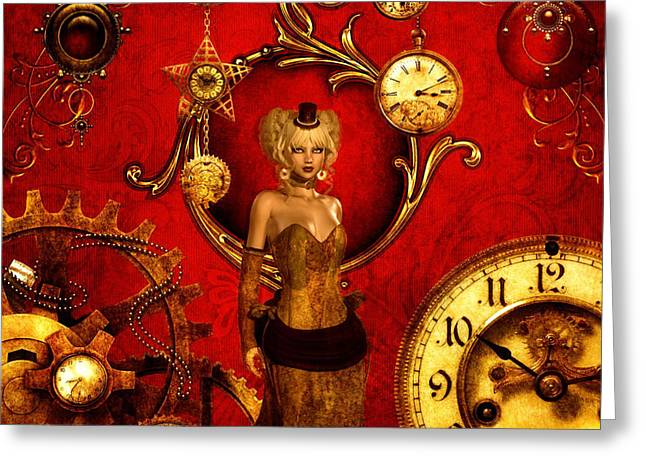 Time After Time Greeting Card by Putterhug Studio