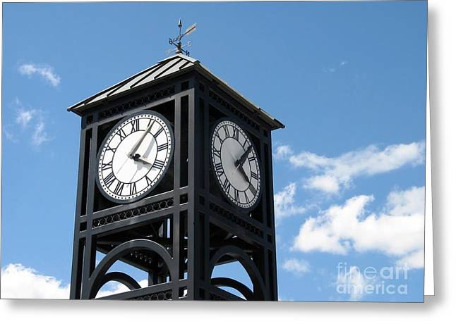 Best Sellers -  - Weathervane Greeting Cards - Time and Time Again Greeting Card by Ann Horn