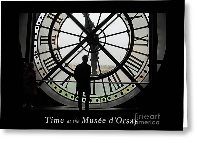 Time At The Musee D'orsay Greeting Card