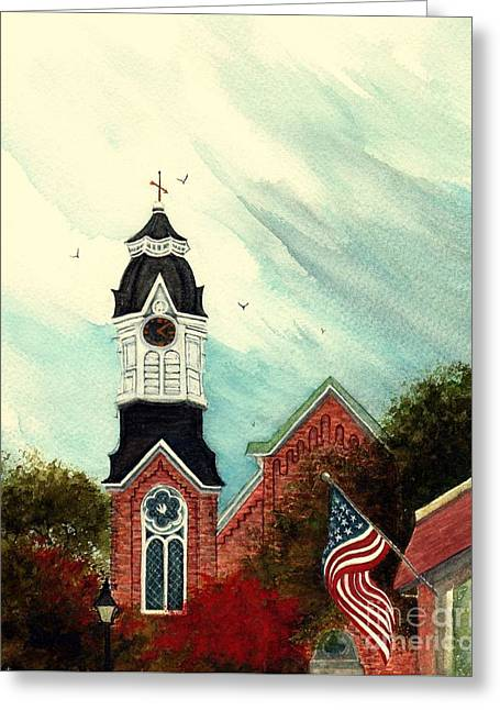 Time For A Change - Milford Pa Greeting Card