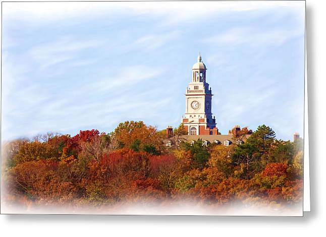 Time For Fall Greeting Card by Jim  Darnall