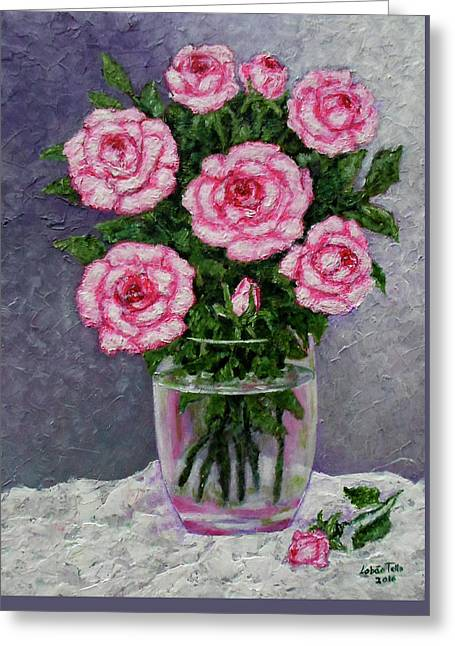 Time For Roses Greeting Card