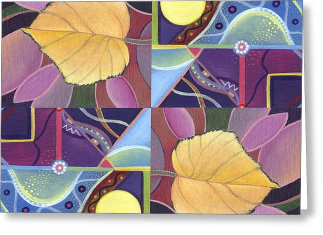 Time Goes By - The Joy Of Design Series Arrangement Greeting Card