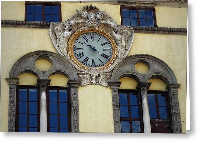 Time In Lucca Greeting Card by Lainie Wrightson