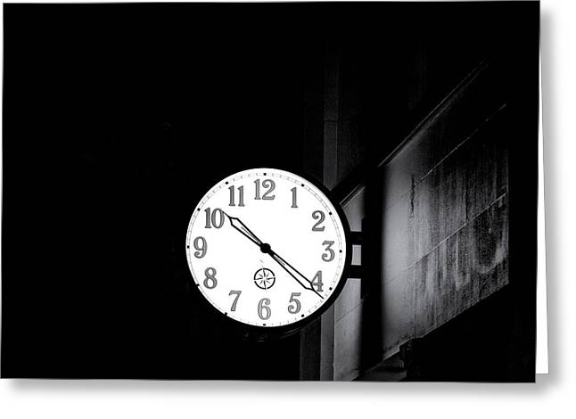 Time Is Slipping Away Greeting Card