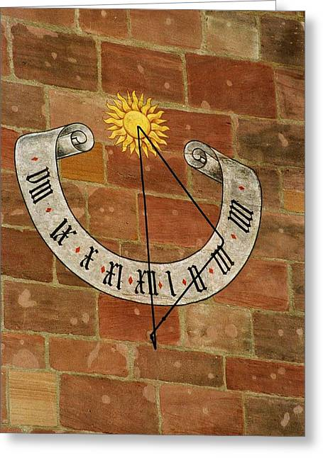 Time ... Greeting Card by Juergen Weiss