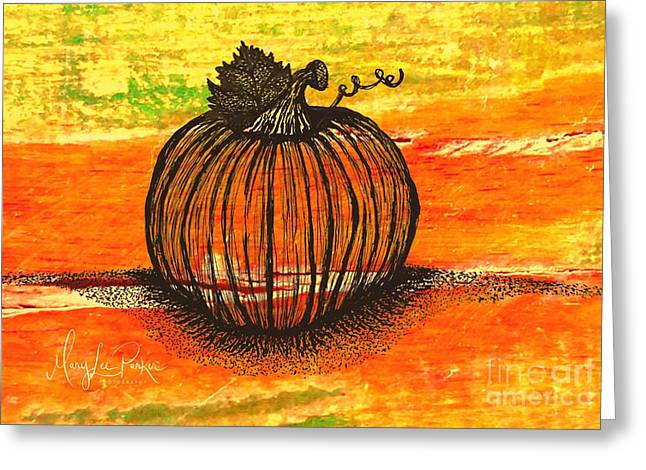 Time To Get Pumkin Greeting Card