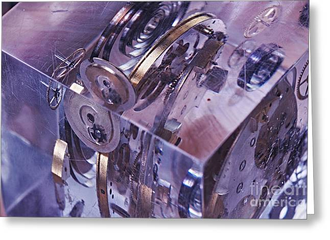Time Trapped Greeting Card