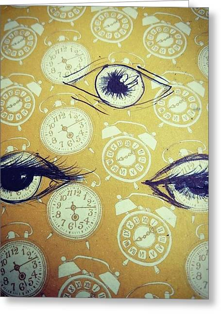 Time Waits For No Man, And Tomorrow Is Greeting Card