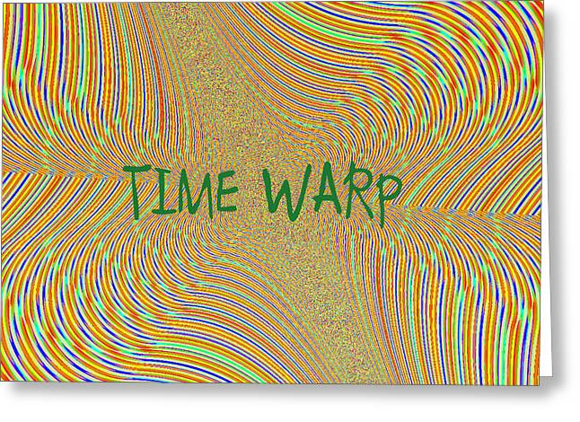 Time Warp Greeting Card by Thomas Smith