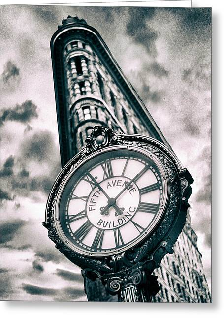 Time Will Tell Greeting Card by Jessica Jenney
