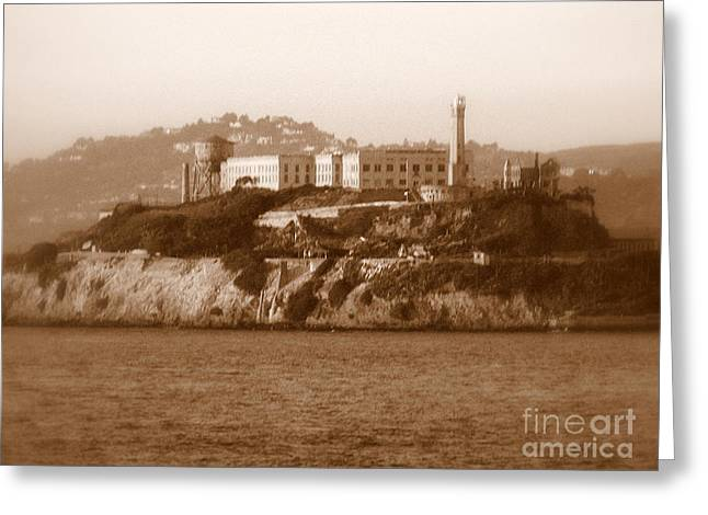 Timeless Alcatraz Greeting Card by Carol Groenen